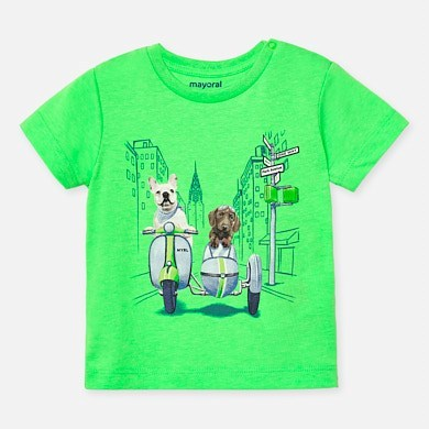 Mayoral,1043,T-Shirt Tiere Baby Jungen